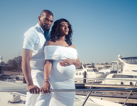 Tamika's Maternity Session