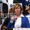 Tammy Baldwin At Russ Feingold Early Vote Rally In Milwaukee, WI