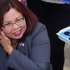 Tammy Duckworth At UIUC Quad Day In Champaign, IL