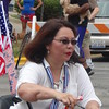 Tammy Duckworth At July 4th Parade In Skokie, IL
