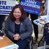 Tammy Duckworth At UIUC Quad Day In Champaign, IL