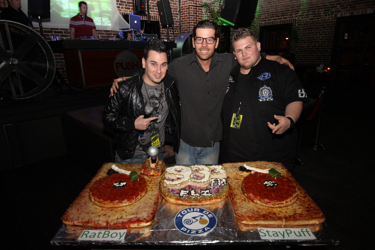 "Throwdown Thursdays with 93.3 FLZ at Push... January 28, 2010  A Special Shout out to Matt from Tour De Pizza, you are a true innovator  He has Successfully created 93.3FLZ Turntables Pizza...  <a href=""http://www.24sevenmagazine.com/St-Petersburg/Push-Ultra-Lounge/Push-Jan-28-2010/11081543_K3WcB#775886049_XrRh8"" target=_blank>click here to see the full album...</a>  <a href=""http://www.24sevenmagazine.com/St-Petersburg/Push-Ultra-Lounge/Push-Jan-28-2010-Save/11081592_zftsw#775893118_GmDgr"" target=_blank>click here for savable pics...</a>"