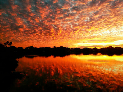 3_2_19 Sunrise at Coffee Pot Bayou
