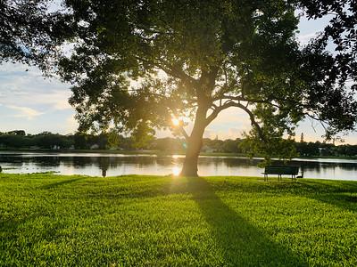 4_23_20 Sunset at Crescent Lake