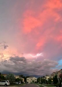 9_2_18 Lightning dancing between the clouds