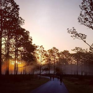 Dawn at J B  Starkey Park
