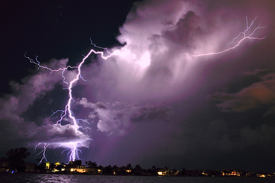 4_3_21 Lightning Storm Bellair Beach