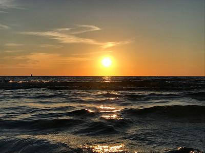 5_27_21 Sunset on the beach