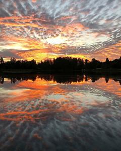 3_19_19 Lake Sharon at sunrise