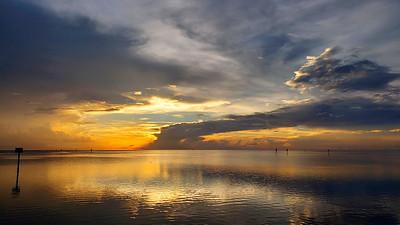 10_7_19 Hudson Beach Sunset After The Storm