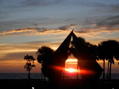 """Truth"" at sunrise"