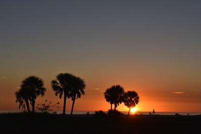 A Treasure Island sunset