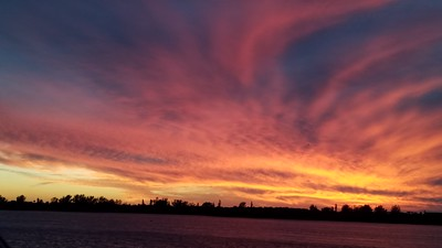Beautiful Anna Marie Island sunset