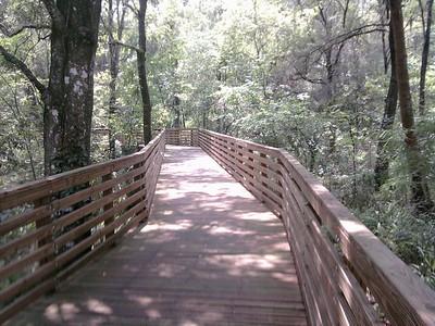 Eureka Springs boardwalk