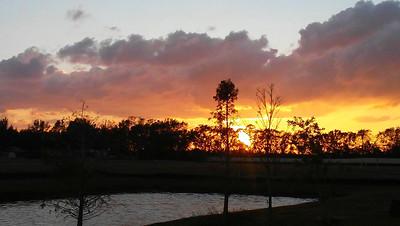 5_4_20 Sunset In Medford Lakes