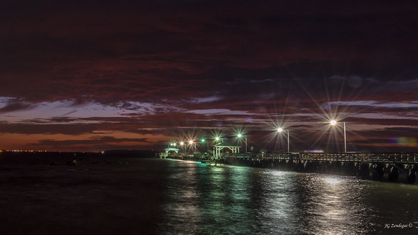 Pre-sunrise at Ballast Point Pier