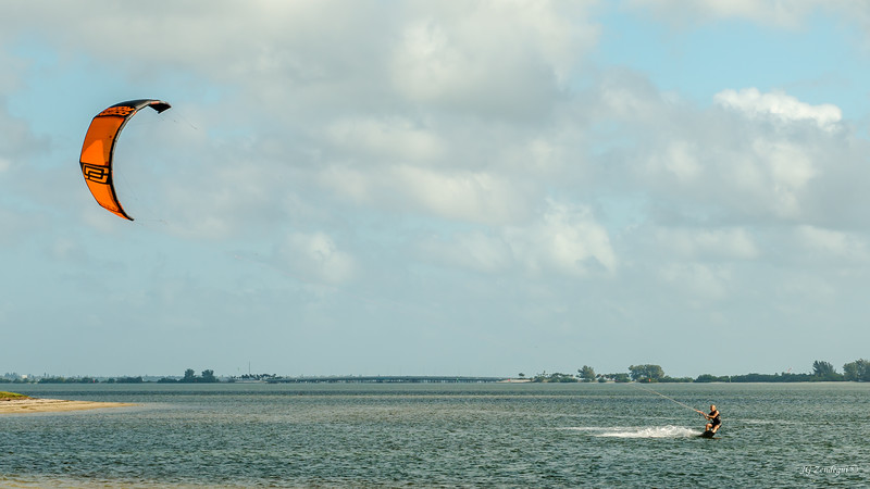 Kiteboard at Ft DeSoto