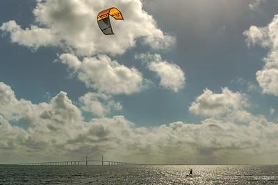 Kiteboard and Skyway