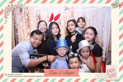 Tan & Ngan Wedding Photo Booth - Chụp hình in ảnh lấy li�n Tiệc cưới - PhotoboothSaigon
