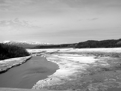 The scenery was most unusual and beautiful even in black :& white.