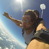 Chris Daugherty tandem skydiving