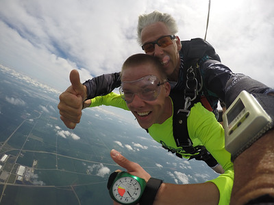 Ryan Vollstedt tandem skydiving