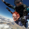 Shirley Upstrom tandem skydiving