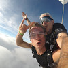 Chris Holland tandem skydiving