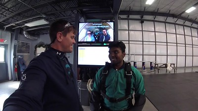 1644 Vinoth Kumar Skydive at Chicagoland Skydiving Center 20170421 Eric Eric