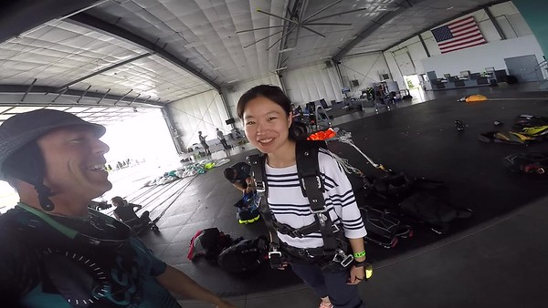 1441 XI WEI Skydive at Chicagoland Skydiving Center 20170813 Brad Brad