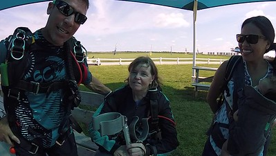 1203 Sharon Crevier Skydive at Chicagoland Skydiving Center 20170715 Brad Eric
