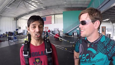 1408 Ashish Kharde Skydive at Chicagoland Skydiving Center 20170514 Eric Chris R