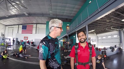 1424 Sushil Dhamale Skydive at Chicagoland Skydiving Center 20170514 Leonard  Jo