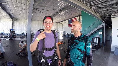 1606 Cesar Montoya Skydive at Chicagoland Skydiving Center 20180526 Doug H Chris W