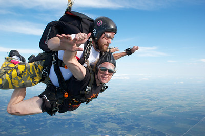 Christie Jack's Tandem Skydive