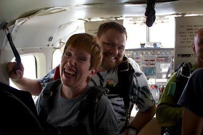 Diane Thayer's Tandem Skydive