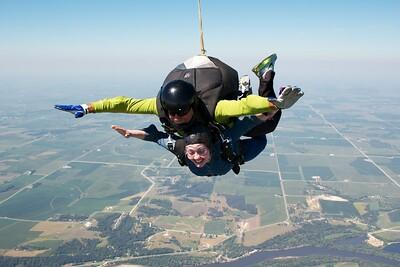 Emily Meier's Tandem Skydive