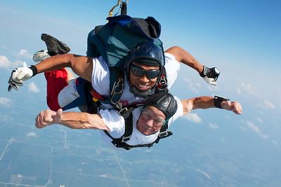 Leonard Fevold's Tandem Skydive