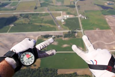 Sara Ahlschwede's Tandem Skydive