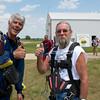 Millard Smock's Tandem Skydive