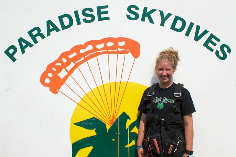 Sarah Mihm Tandem Skydiving