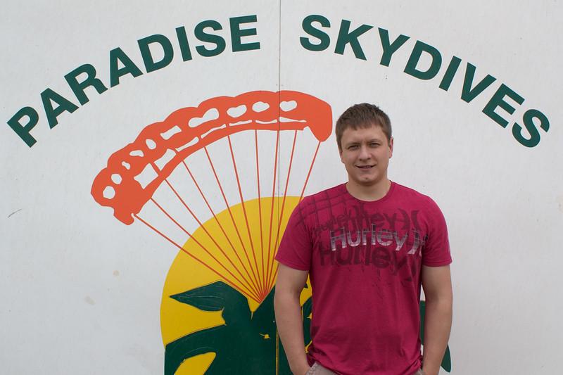 Jordan Sharp's Tandem Skydive