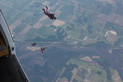 Katelyn McCarey's Tandem Skydive