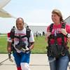 Shiela Cooksley's Tandem Skydive