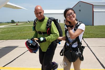 Yemu Xu's Tandem Skydive