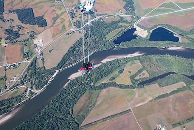 Brant Hambly's Tandem Skydive