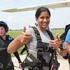Monika Jindal Tandem Skydivingo