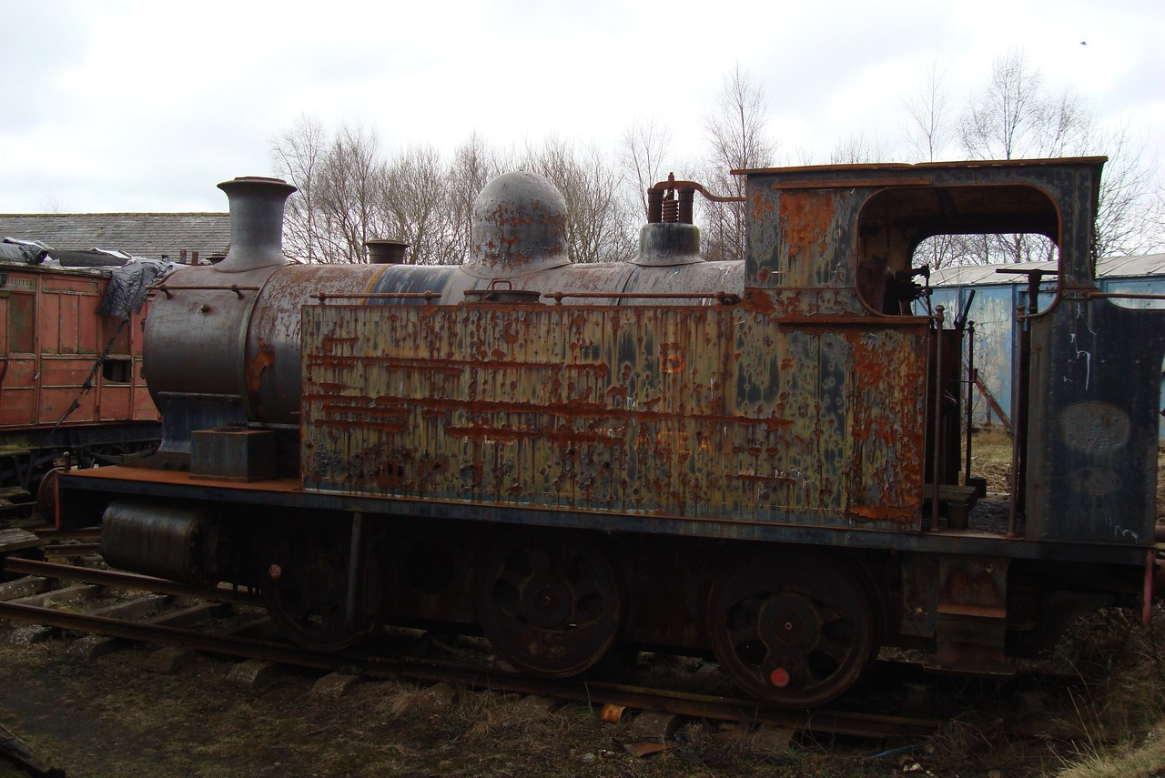 ST 1338 AB 0-6-0T 04,04,2010 (Now At LLangollen)