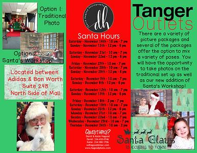 Tanger Outlets Santa 2015
