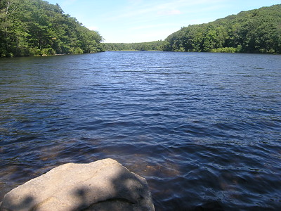 We continued to make good time back to Benedict Pond, where everyone skipped the swim to check in to their motels and make our 6:30PM rendezvous time at Tanglewood.
